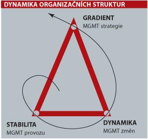 Dynamika organizačních struktur